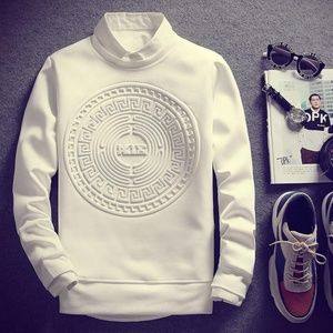 Other - Men Fashion Sweatshirt Cool Pullover Sweater